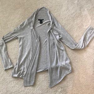 Gently used S grey cardigan